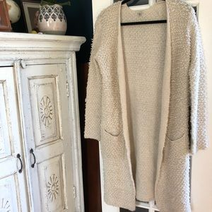 Urban Outfitters long lined knit sweater